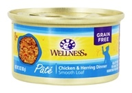 Wellness Pet - Complete Health Cat Food Chicken and Herring Formula - 3 oz.