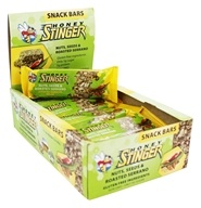 Honey Stinger - Snack Bars Nuts, Seeds & Roasted Serrano - 15 Bars