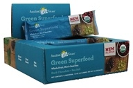 Amazing Grass - Organic Green Superfood Energy Bars Box Dark Chocolate & Sea Salt - 12 Bars