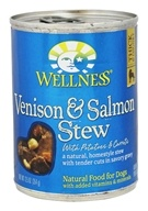 Wellness Pet - Canned Dog Food Venison and Salmon with Potatoes and Carrots - 12.5 oz.