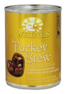 Wellness Pet - Canned Dog Food Turkey Stew with Barley and Carrots - 12.5 oz.
