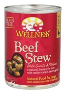Wellness Pet - Canned Dog Food Beef Stew with Carrots and Potatoes - 12.5 oz.