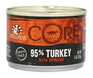 Wellness Pet - Core Dog Food 95% Turkey with Spinach - 6 oz.