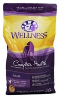 Wellness Pet - Complete Health Adult Dog Food Deboned Chicken and Oatmeal Recipe - 5 lbs.