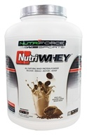 NutriForce Sports - NutriWhey All Natural Whey Protein Powder Cafe Cream - 3.65 lbs.