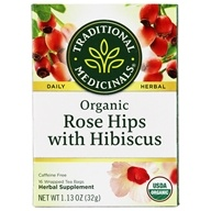 Traditional Medicinals - Organic Rose Hips Tea - 16 Tea Bags