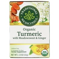 Traditional Medicinals - Organic Turmeric Tea - 16 Tea Bags