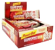 PowerBar - Clean Whey Protein Bar White Fudge Raspberry - 16 Bars