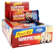 PowerBar - Clean Whey Protein Bar Cookies and Cream - 16 Bars