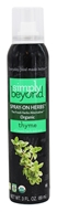 Simply Beyond - Organic Spray On Herb Thyme - 3 oz.