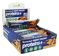 Genuine Health - Fermented Greek Yogurt Proteins+ Bar Cinnamon Pecan - 12 Bars