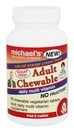 Michael's Naturopathic Programs - Adult Chewable Daily Multivitamin Orange Cream - 60 Chewable Tablets