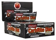 Universal Nutrition - Doctor's CarbRite Diet Bars Box Chocolate Brownie - 12 Bars