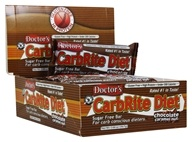 Universal Nutrition - Doctor's CarbRite Diet Bars Box Chocolate Caramel Nut - 12 Bars