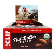Clif Bar - Organic Nut Butter Filled Energy Bar Chocolate Peanut Butter - 12 Bars