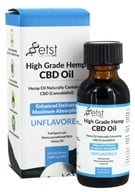Earth Science Tech - High Grade Hemp Oil CBD Raw Unflavored 22.5 mg. - 1 oz.