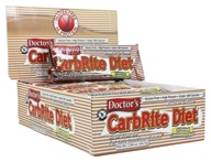 Universal Nutrition - Doctor's CarbRite Diet Bars Box Frosted Cinnamon Bun - 12 Bars