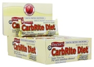 Universal Nutrition - Doctor's CarbRite Diet Bars Box Lemon Meringue - 12 oz.