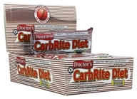 Universal Nutrition - Doctor's CarbRite Diet Bars Box Toasted Coconut - 12 Bars