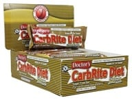 Universal Nutrition - Doctor's CarbRite Diet Bars Box Chocolate Peanut Butter - 12 Bars