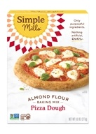 Masa para pizza natural sin gluten Masa para pizza con mezcla de harina de almendra - 9.8 oz. by Simple Mills