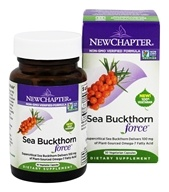 New Chapter - Sea Buckthorn Force - 30 Vegetarian Capsules