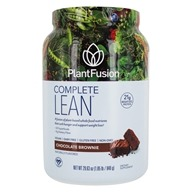 PlantFusion - Lean Clinically Tested Plant Based Weight Loss Chocolate Brownie - 29.6 oz.