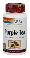 Purple Tea Leaf Extract 100 mg. - 30 Vegetarian Capsules