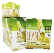 PlantFusion - Lean Clinically Tested Plant Based Weight Loss Vanilla Bean - 12 Packet(s)