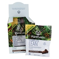PlantFusion - Lean Clinically Tested Plant Based Weight Loss Chocolate Brownie - 12 Packet(s)