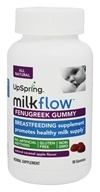 UpSpring - Milkflow Breastfeeding Fenugreek Gummies Caramel Apple - 90 Gummies