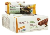 Think Products - thinkThin Crunch Bars Box Mixed Nuts - 10 Bars