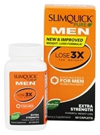 SlimQuick - Pure Men Powerful Weight Loss Extra Strength - 60 Caplets