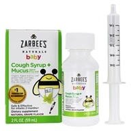 Baby Cough Syrup + Mucus Relief Grape - 2 fl. oz.