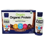 Orgain - Organic Nutritional Protein RTD Shake Creamy Chocolate - 12 Bottle(s)