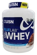 USN Supplements - BlueLab 100% Whey Ultra-Premium Whey Protein Powder Molten Chocolate - 4.5 lbs.