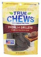 True Chews - Premium Grillers Dog Treats Made With Real Sirloin Steak - 4 oz.