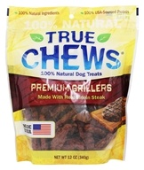 True Chews - Premium Grillers Dog Treats Made With Real Sirloin Steak - 12 oz.