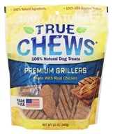 True Chews - Premium Grillers Dog Treats Made With Real Chicken - 12 oz.