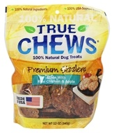 True Chews - Premium Sizzlers Dog Treats Made With Real Chicken and Apple - 12 oz.