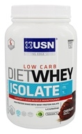 USN Supplements - Diet Whey Isolate Low Carb Chocolate - 1.54 lbs.