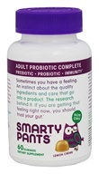 SmartyPants - Adult Probiotic Complete Lemon Creme - 60 Gummies