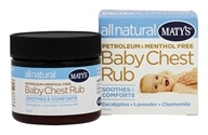 Maty's Healthy Products - All Natural Baby Chest Rub - 1.5 oz.