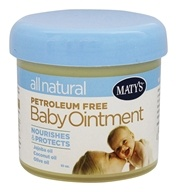 Maty's Healthy Products - All Natural Baby Ointment - 10 oz.