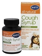 Maty's Healthy Products - All Natural Cough Syrup for Children - 4 oz.