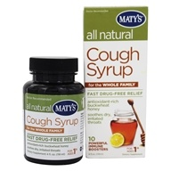 Maty's Healthy Products - All Natural Cough Syrup for the Whole Family - 4 oz.