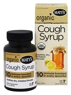 Maty's Healthy Products - Organic Cough Syrup - 4 oz.