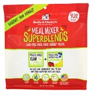 Stella & Chewy's - Freeze-Dried Meal Mixer SuperBlends for Dogs Cage-Free Duck & Goose - 16 oz.