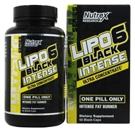 Nutrex - Lipo 6 Black Intense Ultra Concentrate - 60 Capsules