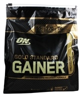Optimum Nutrition - Gold Standard Gainer Protein and Carb Recovery Formula Vanilla Ice Cream - 5 lbs.